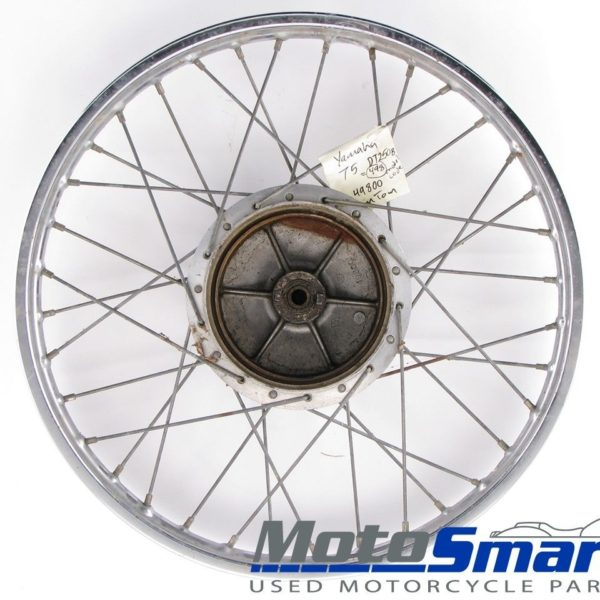 1975-Yamaha-Takasago-DT250-Front-Wheel-Rim-21-Inch-Poor-Used-107469-271384274431
