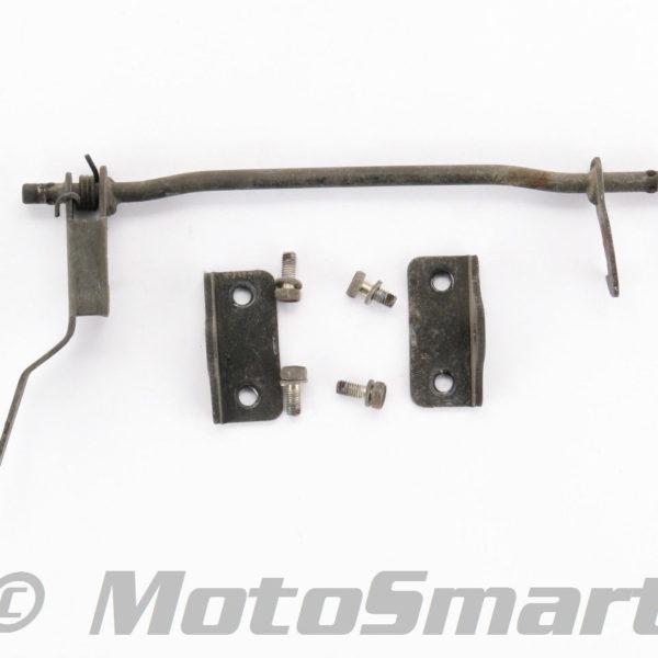 82-Yamaha-XJ650LJ-Seca-Turbo-Seat-Latch-Lever-Assembly-Fair-Used-105711-280723163308